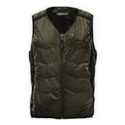 Image of Harkila HEAT V-Neck Waistcoat - Willow Green/Black