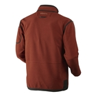 Image of Harkila Kamko Fleece - Burnt Orange/Shadow Brown