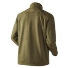 Image of Harkila Sandhem Fleece Jacket - Olive Green Melange