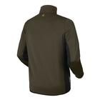 Image of Harkila Tidan Hybrid Half Zip Fleece Jacket - Willow Green/Black