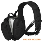 Image of Hazard 4 Evac Watson - Lumbar/Chest Sling Bag - Black