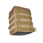 Image of Hazard 4 Forward Observer - Molle SLR Camera Bin - Coyote
