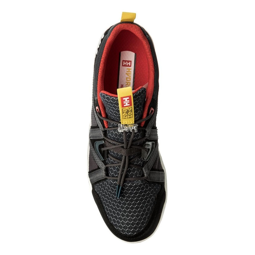 6acdbc2417535 Helly Hansen HP Foil F-1 Shoes - Ebony Black Alert Red White Off ...