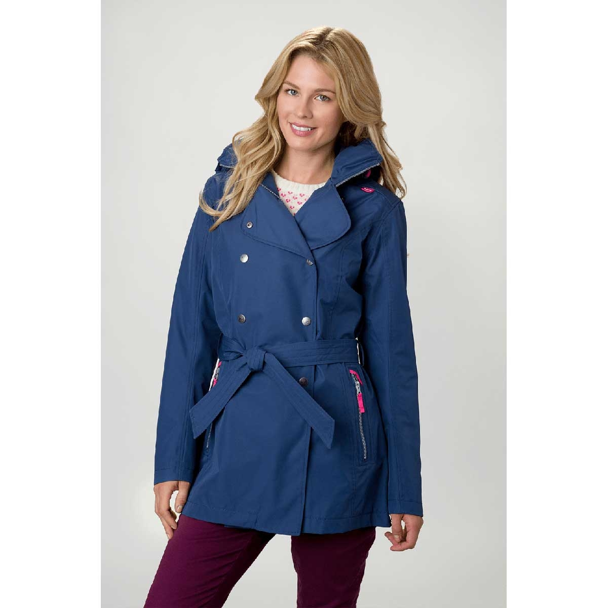 usa cheap sale new appearance variousstyles Helly Hansen Welsey Trench Jacket (Women's) - Deep Steel