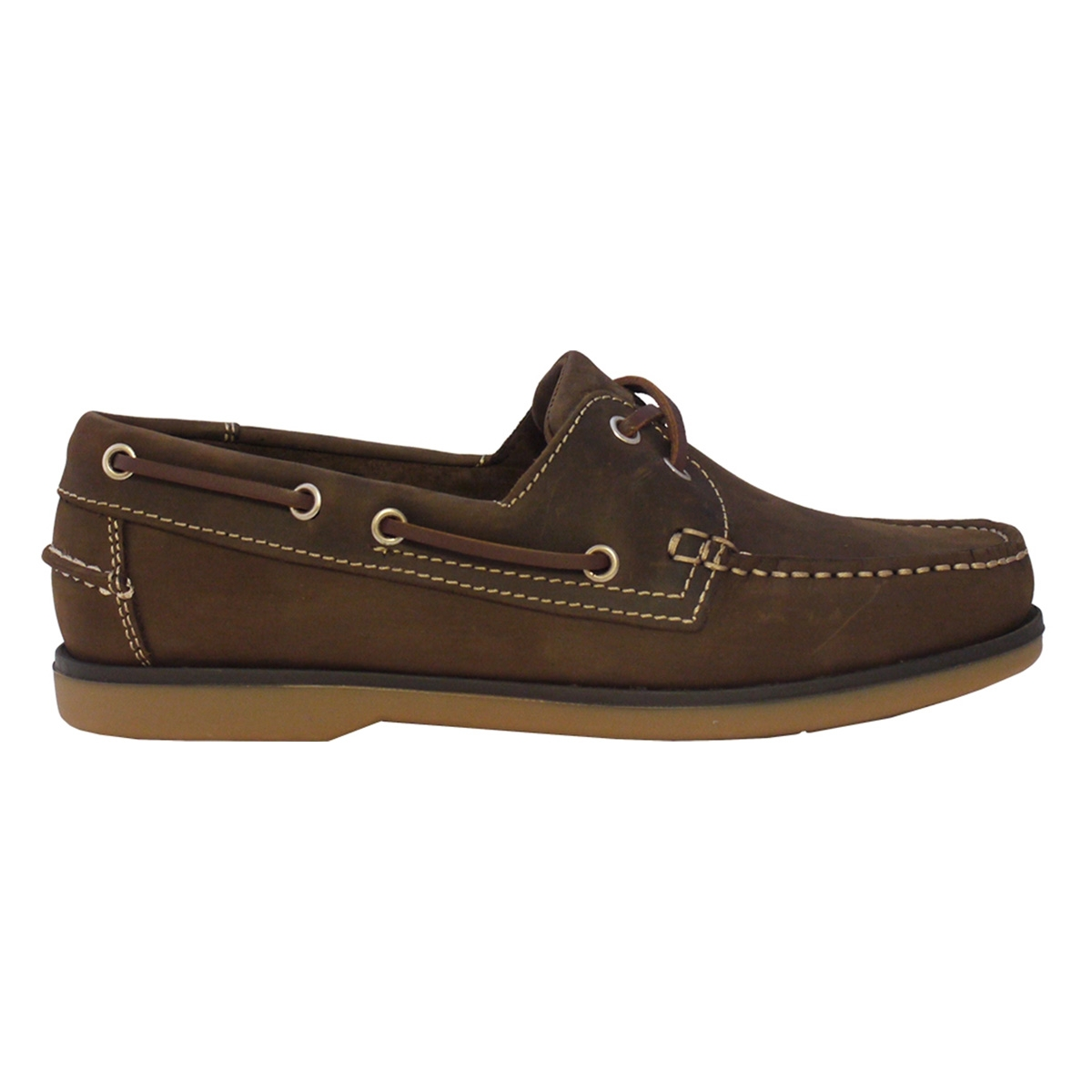 ... Image of Kanyon Outdoor Capri Ladies Boat Shoes (Women s) - Brown Crazy  Horse 5ed9e3e64