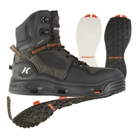 Korkers Terror Ridge Boots - Felt With Kling-On Rubber Outsoles