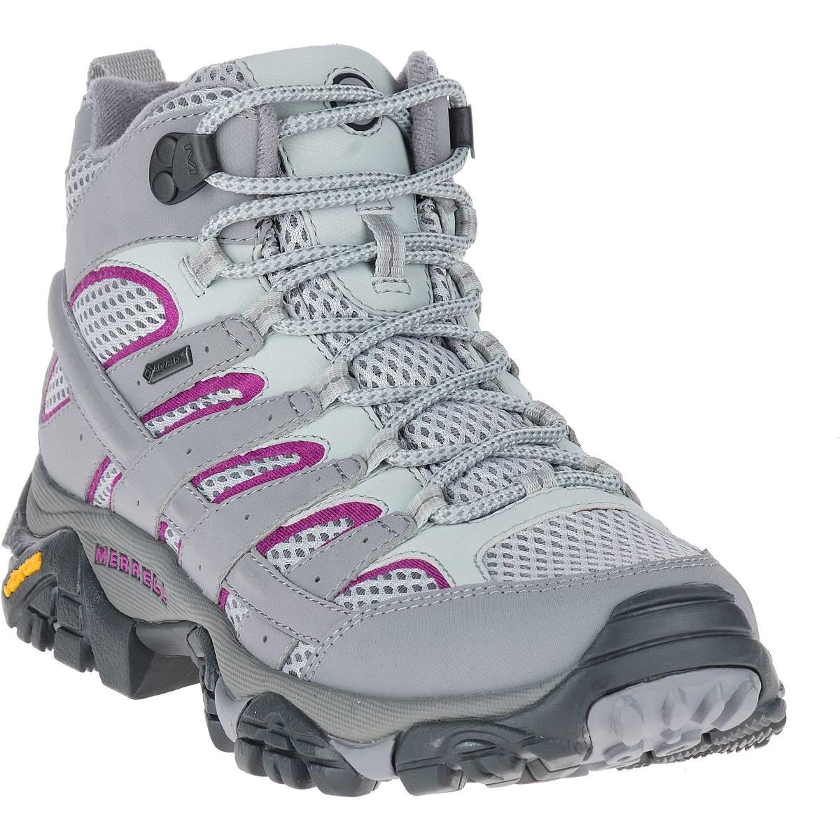 dd3851f4c1a Merrell Moab 2 MID GTX Walking Boots (Women's) - Frost Grey