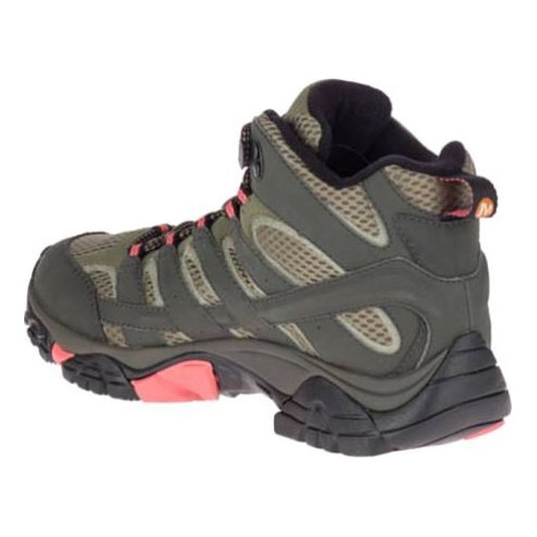 attractivefashion luxury largest selection of 2019 Merrell Moab 2 MID GTX Walking Boots (Women's) - Beluga/Olive