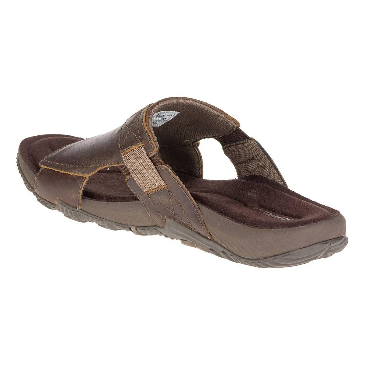 29f26307bf6f ... Image of Merrell Terrant Slide Sandals (Men s) - Dark Earth ...
