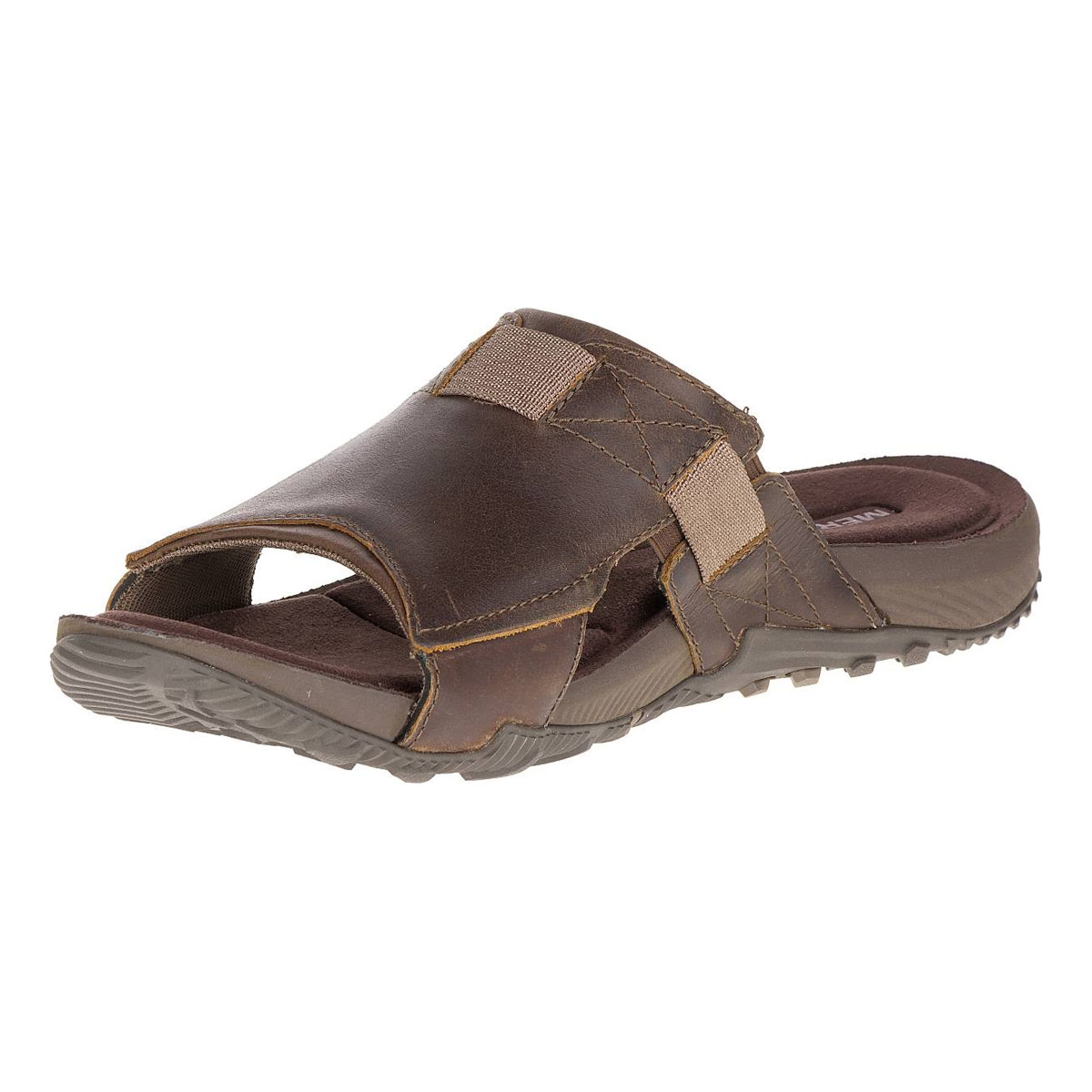 thoughts on really comfortable unique design Merrell Terrant Slide Sandals (Men's) - Dark Earth
