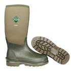Image of Muck Boots Chore Classic Hi Wellingtons - Moss Green
