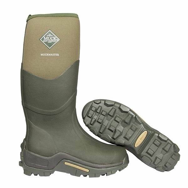 8cef22ca1a2 Muck Boots Muckmaster Hi Wellingtons - Moss Green