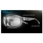 Image of Nike Miler Men's Sunglasses - Deep Royal / Grey with Silver Flash