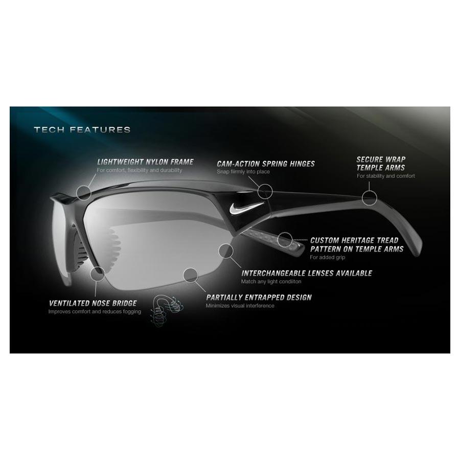 5d4cf0750cb ... Image of Nike Skylon Ace Men s Polarized Sunglasses - Onyx   Brown Max  Polarised