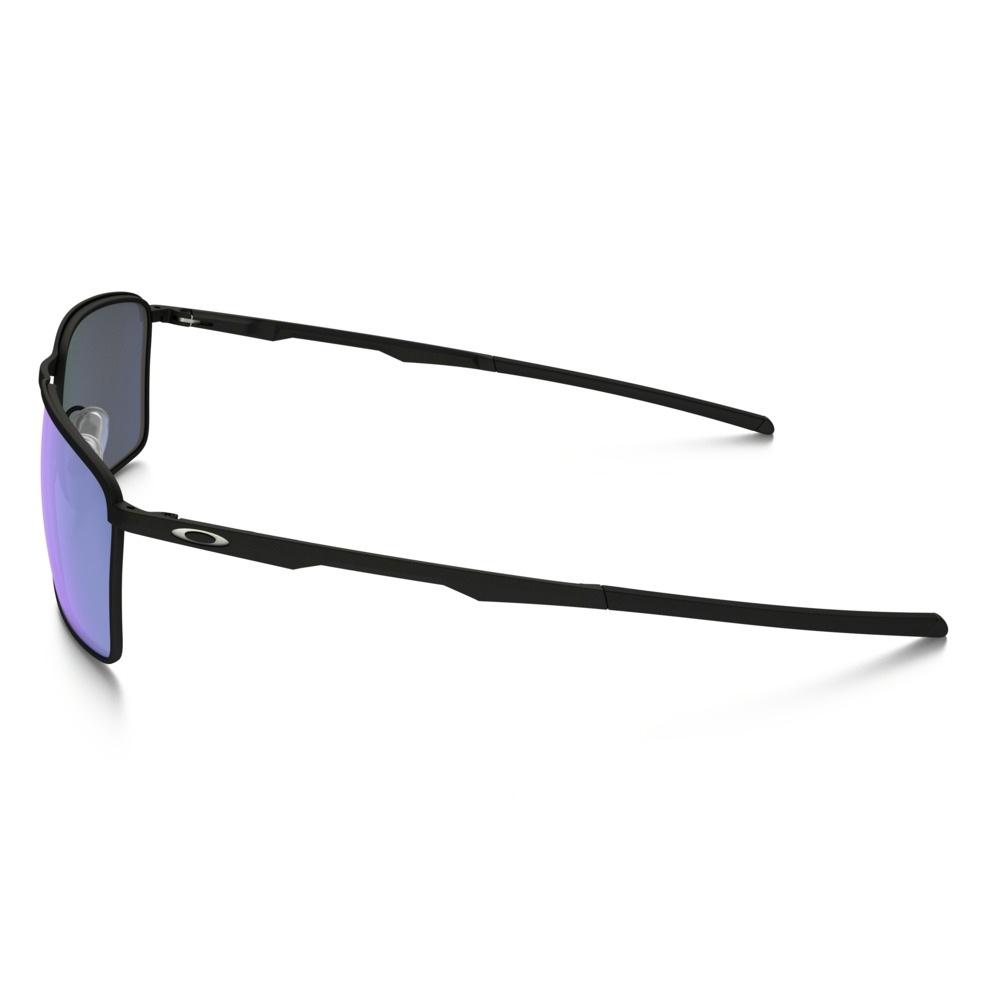... Image of Oakley Conductor 6 Polarized Sunglasses - Matte Black  Frame Ice Iridium Polarized Lens ... fd035e51ea7f