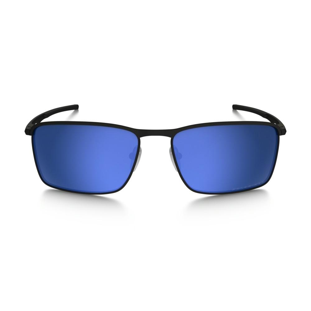 63b4397b82860 ... Image of Oakley Conductor 6 Polarized Sunglasses - Matte Black Frame Ice  Iridium Polarized Lens