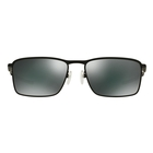 Image of Oakley Conductor 6 Sunglasses - Matte Black Frame/Black Iridium Lens