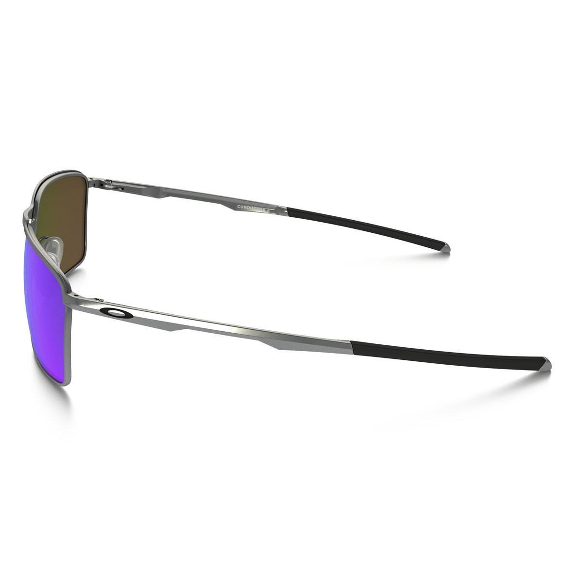 617a1a1ce5 ... Image of Oakley Conductor 6 Sunglasses - Lead Frame Sapphire Iridium  Lens