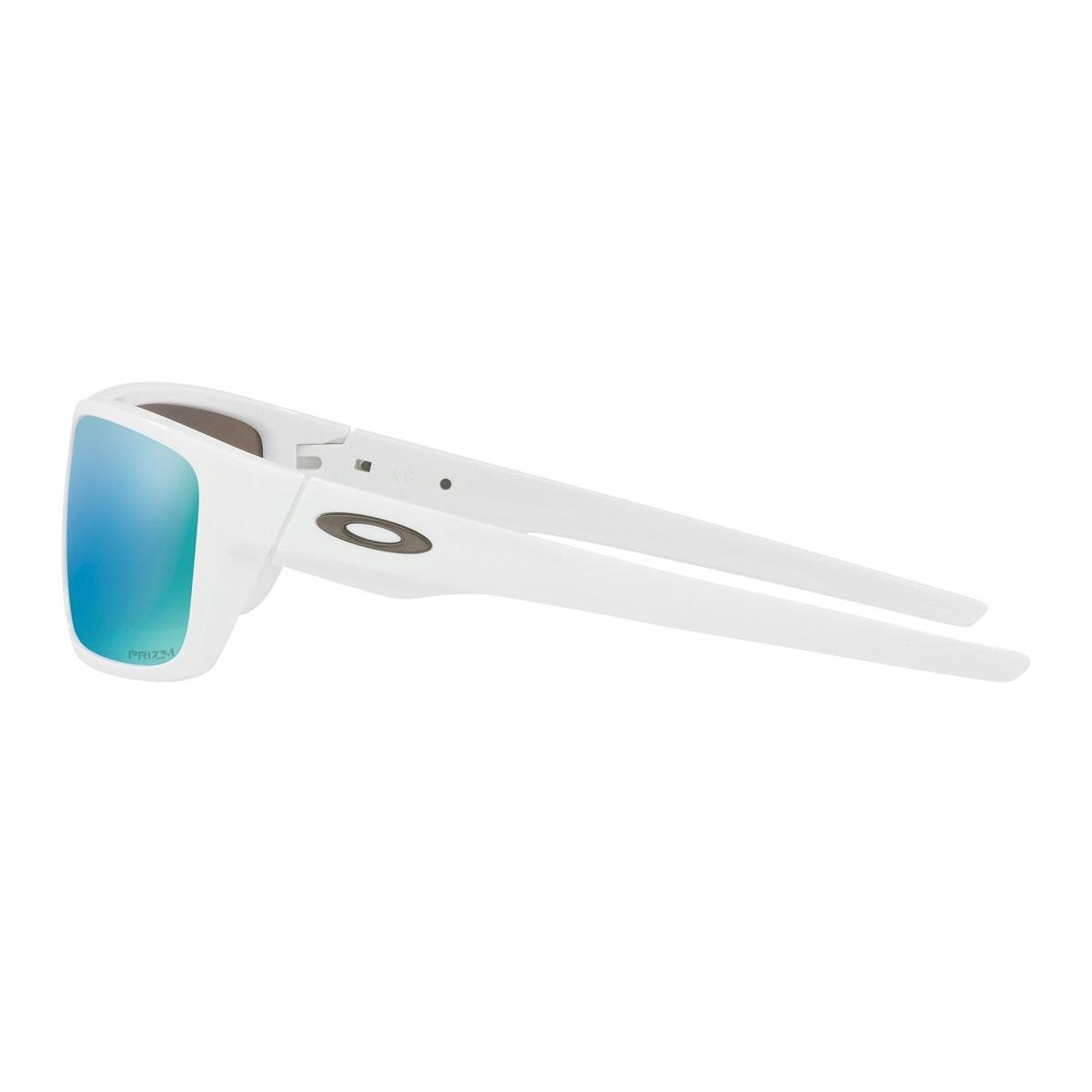 fee999c9ac1f ... Image of Oakley Drop Point Prizm Polarised Sunglasses - Polished White  Frame PRIZM Deep Water ...