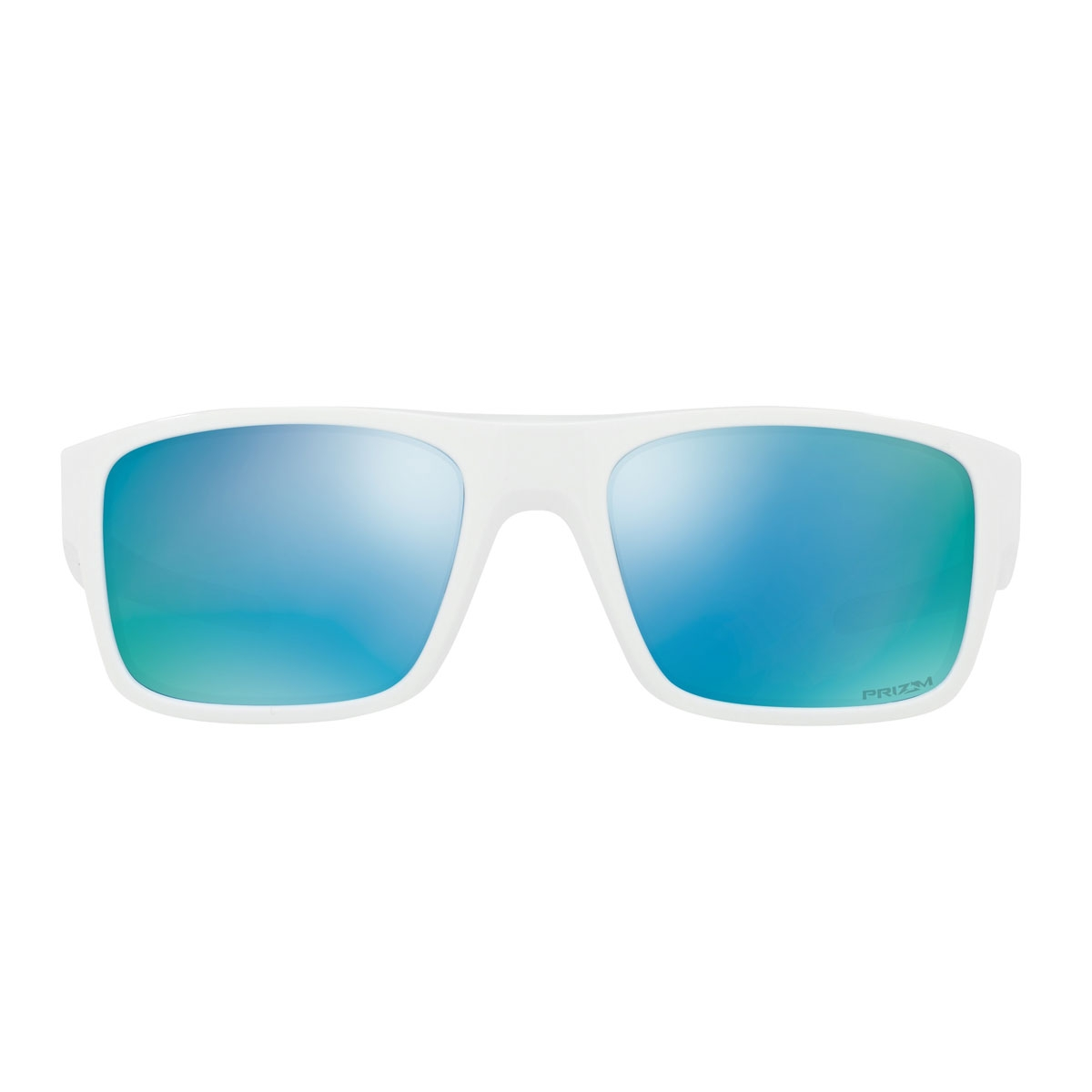 1bceae771d8c ... Image of Oakley Drop Point Prizm Polarised Sunglasses - Polished White  Frame PRIZM Deep Water