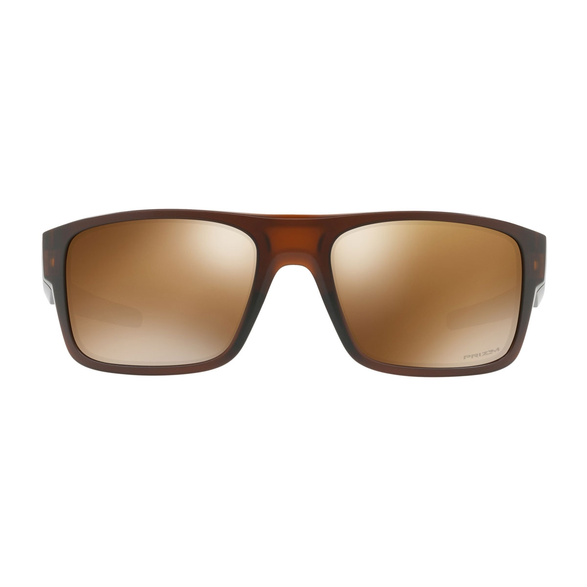 Oakley Drop Point Prizm Polarised Sunglasses - Matte Root Beer Frame ...