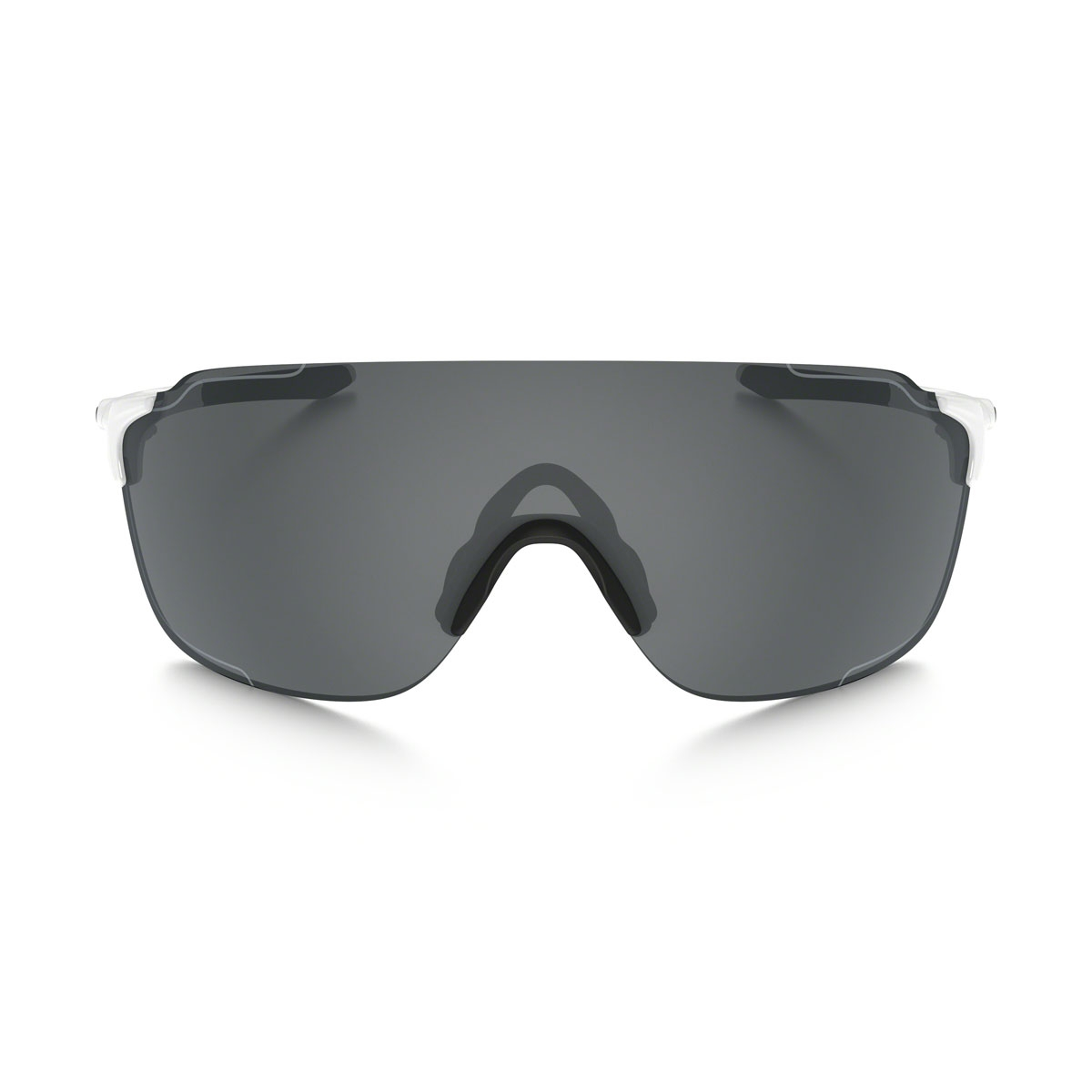 714f2edd344 ... Image of Oakley EVZero Stride Sunglasses - Polished White Black Iridium
