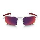 Image of Oakley Flak 2.0 Prizm Road Sunglasses - Polished White Frame/Prizm Road Lens