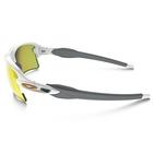 Image of Oakley Flak 2.0 XL Sunglasses - Polished White Frame/Fire Iridium Lens