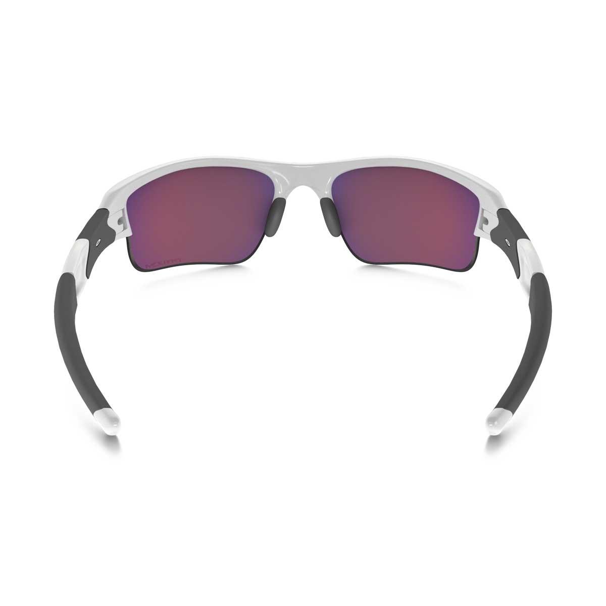 16920e6d0b ... Image of Oakley Flak Jacket XLJ Men s Polarized Sunglasses - Polished  White   Prizm Road ...