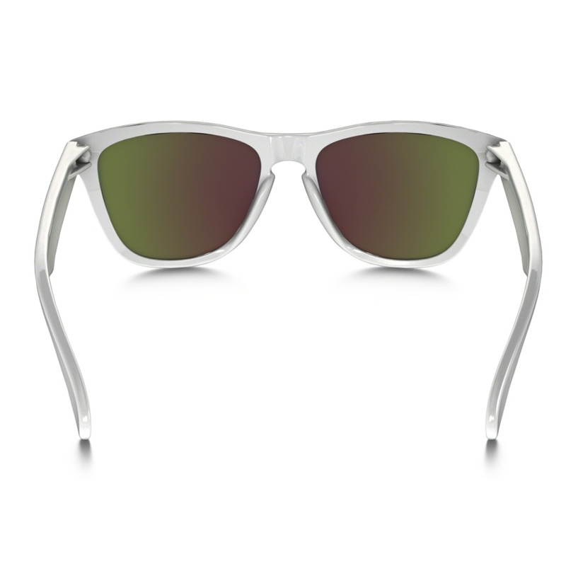 f9fa30799c88 ... czech image of oakley frogskin sunglasses polished white ruby iridium  257fa d3d03