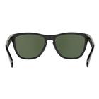 Image of Oakley Frogskins Men's Sunglasses - Polished Black Frames/PRIZM Black Lens