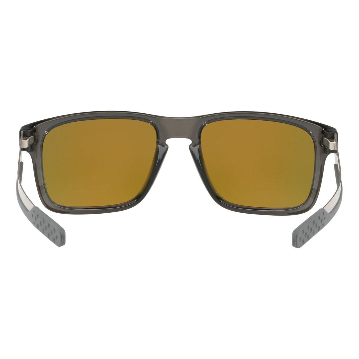 be379317a8 ... Image of Oakley Holbrook Mix Prizm Polarised Sunglasses - Grey Smoke  Frame Prizm Ruby Polarized ...