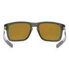 Image of Oakley Holbrook Mix Prizm Polarised Sunglasses - Grey Smoke Frame/Prizm Ruby Polarized Lens