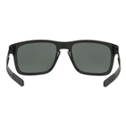 Image of Oakley Holbrook Mix Prizm Polarised Sunglasses - Polished Black Frame/Prizm Black Polarized Lens