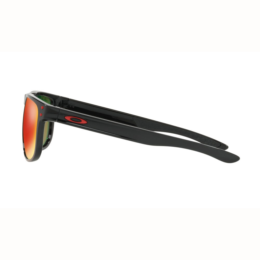 23f30c8c6e ... Image of Oakley Holbrook R Prizm Polarized Sunglasses - Polished Black  Frame Prizm Ruby Polarized ...