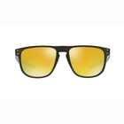 Image of Oakley Holbrook R Sunglasses - Matte Black Frame/24K Iridium Lens