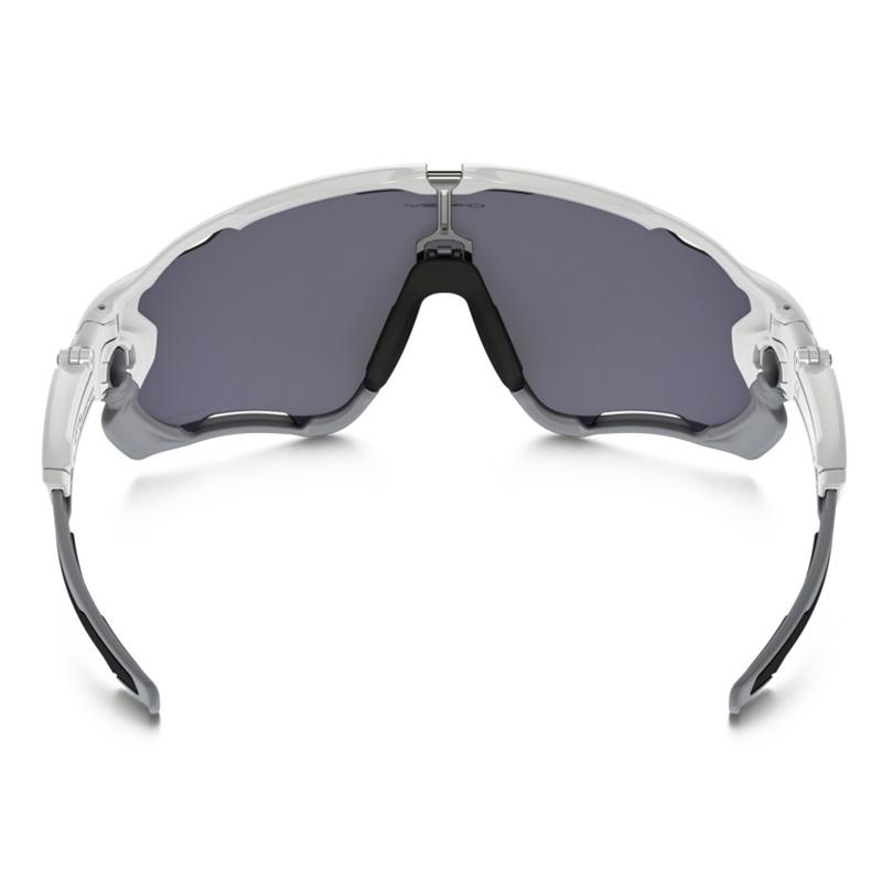 86dcf28e54 ... Image of Oakley Jawbreaker Men s Polarized Sunglasses - Polished White    Grey Polarized ...