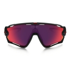 Image of Oakley Jawbreaker Prizm Road Men's Sunglasses - Matte Black/Prizm Road
