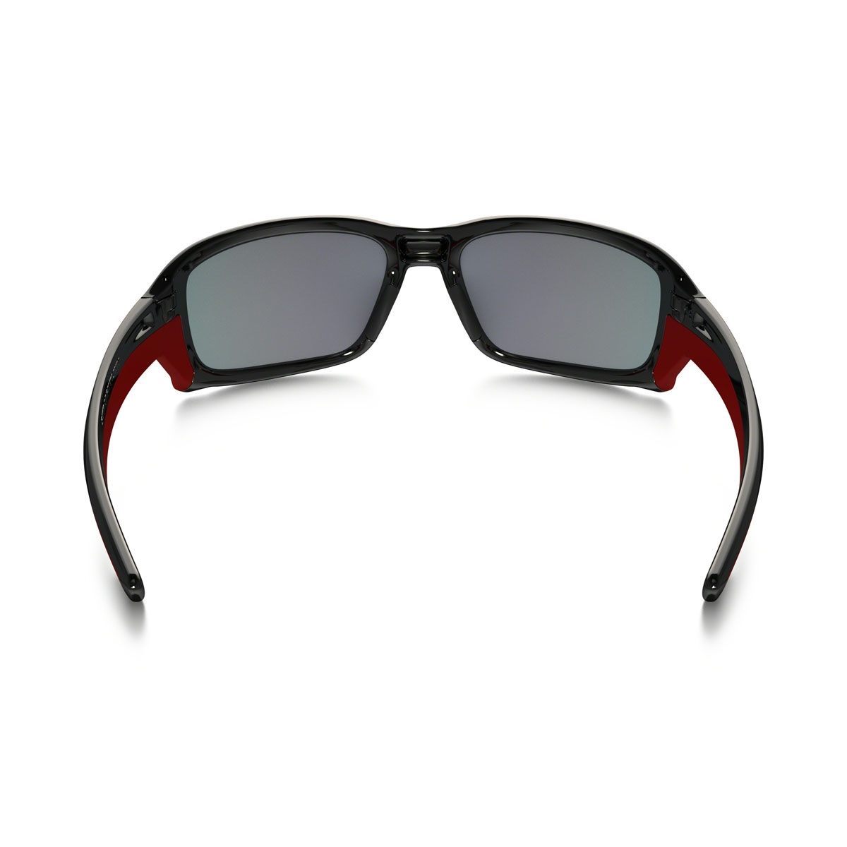73e1a416424 ... Image of Oakley Straightlink Polarized Men s Sunglasses - Polished Black  Frame Torch Iridium Polarized Lens ...