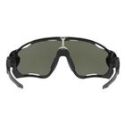 Image of Oakley Jawbreaker Prizm Polarised Sunglasses - Polished Black Frame/Prizm Black Polarized Lens
