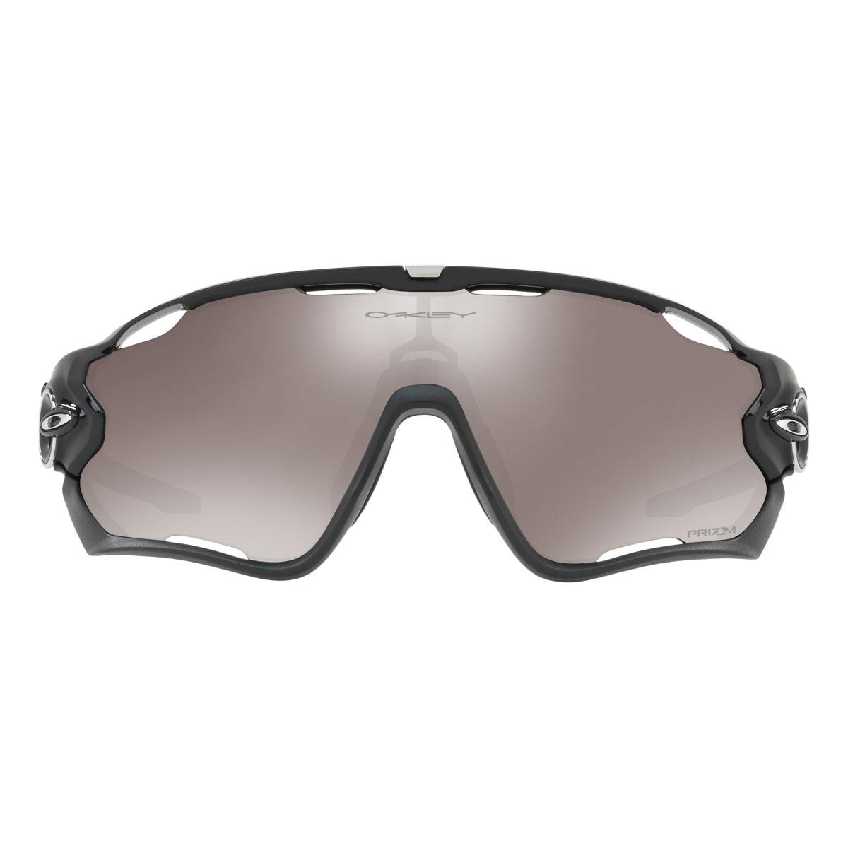 251ae83321e ... Image of Oakley Jawbreaker Prizm Polarised Sunglasses - Polished Black  Frame Prizm Black Polarized Lens