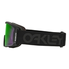 Image of Oakley Line Miner Ski Goggles - Factory Pilot Blackout Frame/Prizm Jade Iridium