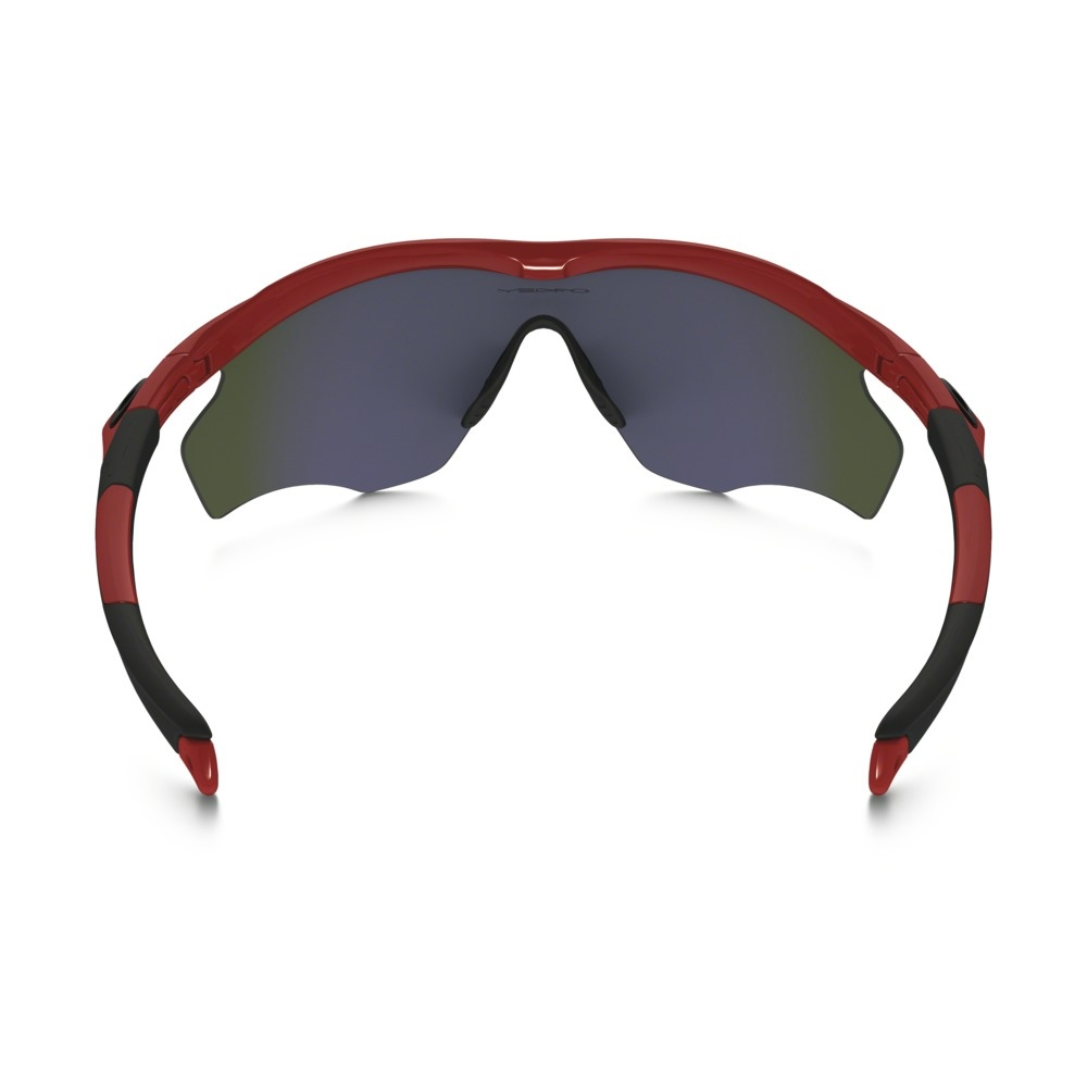 8d3cdfe0e46 ... Image of Oakley M2 Frame XL Sunglasses - Redline Frame Positive Red  Iridium Lens ...