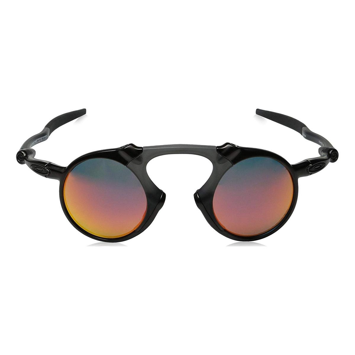 8823f8f60a1 ... spain image of oakley madman polarized sunglasses dark carbon frame  ruby iridium polarized lens. c84fe