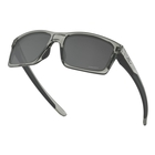 Image of Oakley Mainlink Prizm Sunglasses - Grey Ink Frame/Prizm Black Lens