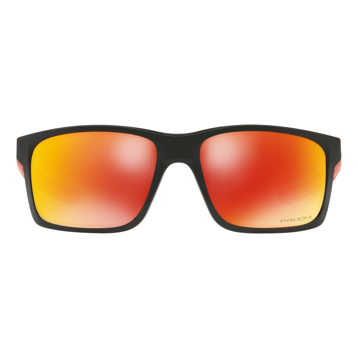 ce2e1fb39d ... Image of Oakley Mainlink Prizm Polarised Sunglasses - Polished Black  Frame Prizm Ruby Polarized Lens