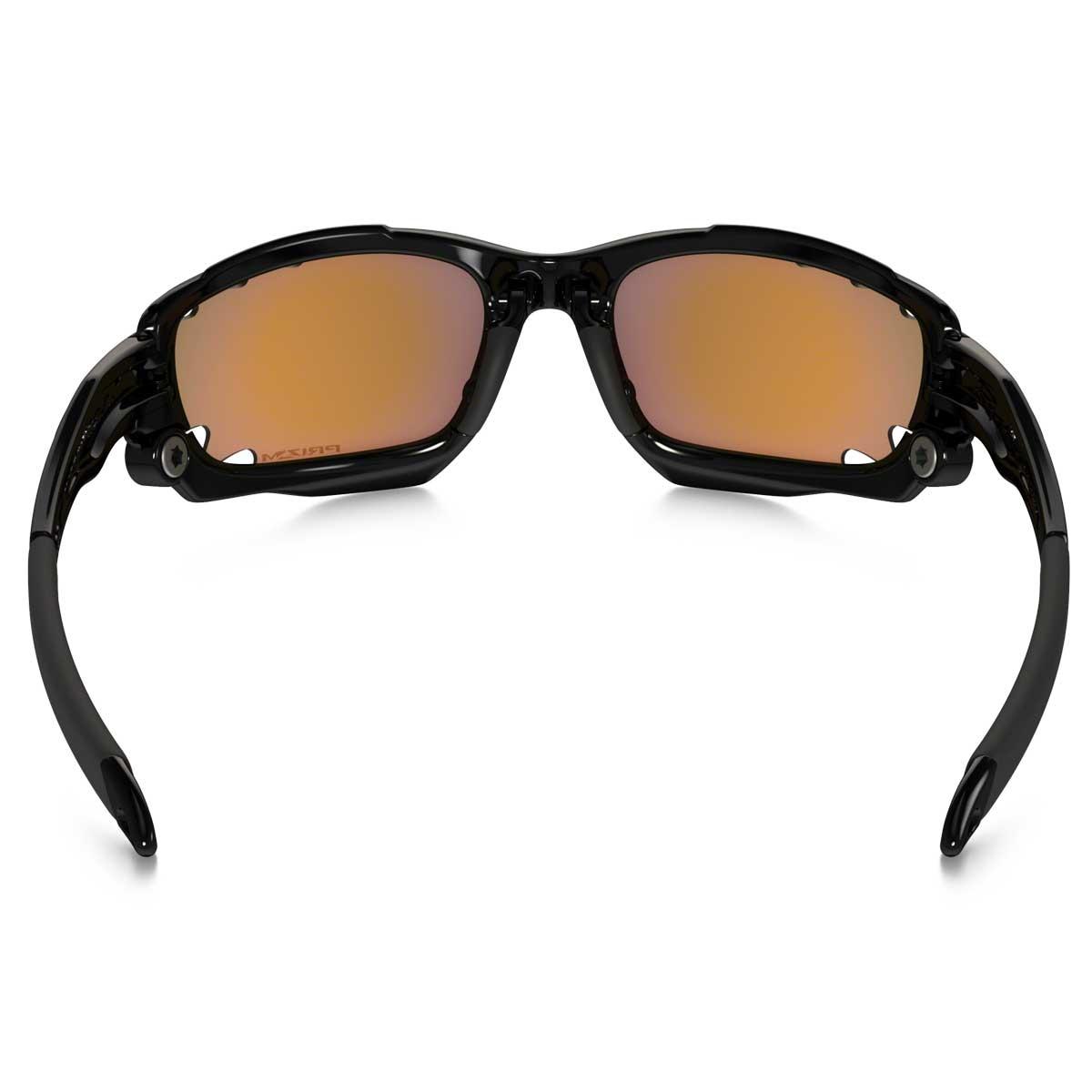 ... Image of Oakley Racing Jacket Vented Sunglasses - Polished Black   Prizm  Trail ... 39e9e47a75