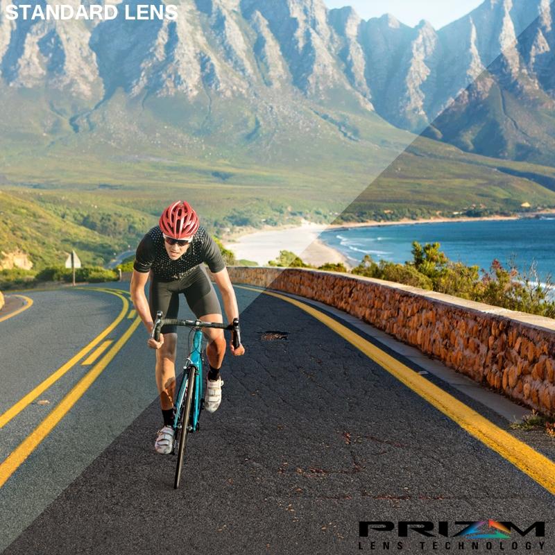 0529325227e9 ... Image of Oakley Radar EV Path Men's Prizm Road Sunglasses - Polished  White / Prizm Road