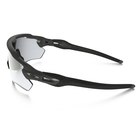 Image of Oakley Radar EV Path Photochromic Sunglasses - Steel Frame/Clear Black Iridium Photocromatic Len
