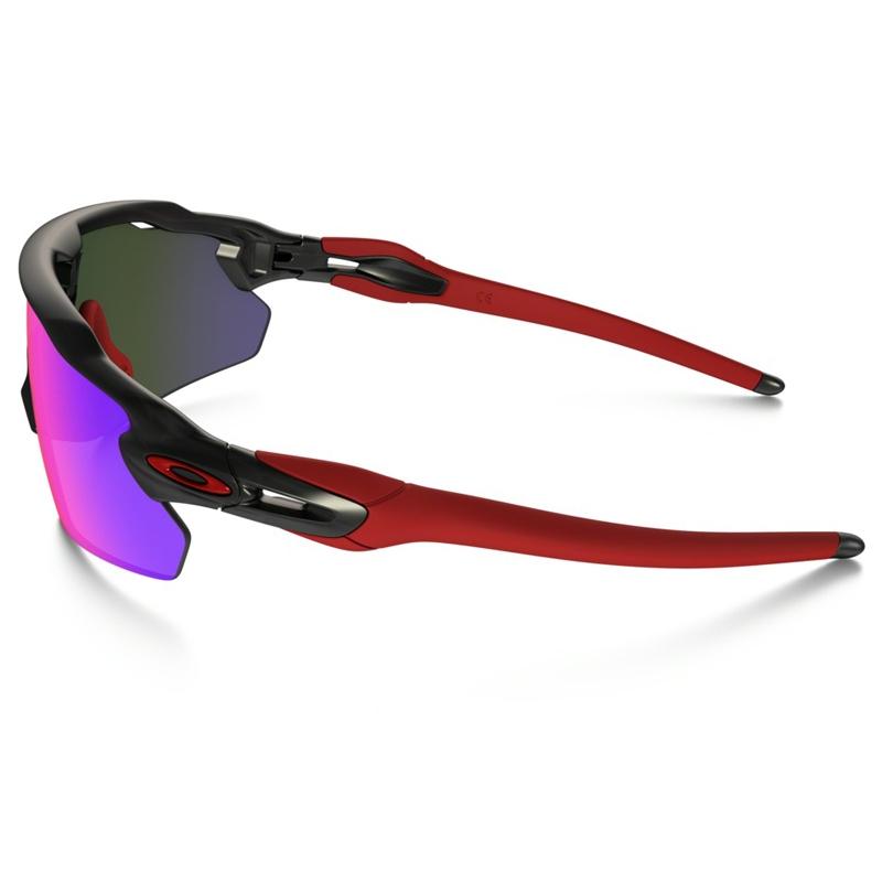 ... Image of Oakley Radar EV Pitch Men s Sunglasses - Matte Black Ink   Positive  Red Iridium 72d2ad351c